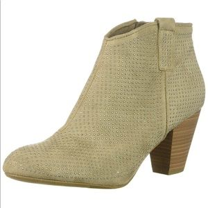 NEW Worth The Wait Tiny Studs Chic Ankle Bootie